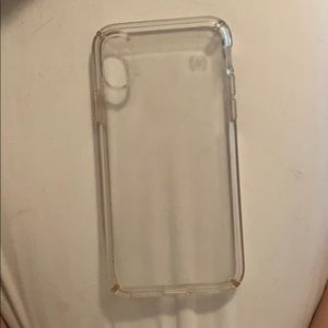 Speck iPhone XS phone case